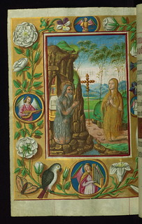 Almugavar Hours, Saints Onuphrius and Mary of ...