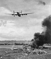 B-24 Liberator takes off from Kunming 7-9-44