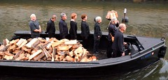 Boat crew in the Lighting Procession