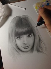 """Kyary drawing 15 • <a style=""""font-size:0.8em;"""" href=""""http://www.flickr.com/photos/66379360@N02/9731389894/"""" target=""""_blank"""">View on Flickr</a>"""