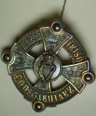 Royal Irish Constabulary Broach worn on by Sasha Taylor, on Flickr