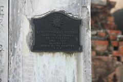 Villere tomb- Revolutionary Soldier plaque