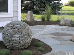 WM Chuck Eblacker 9, B2, sphere, flat work, boulders,