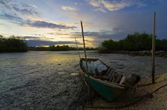 Abandoned Sampan
