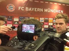 Thorben Marx im Interview nach dem Spiel des FC Bayern München gegen Borussia Mönchengladbach