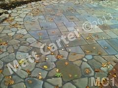 WM Matt Carter 1, Flat work, dry laid stone construction, copyright 2014