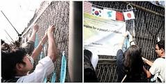 Korean Unification dreamers visit to the DMZ