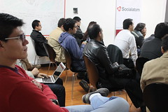 "El meetup oficial del framework Django • <a style=""font-size:0.8em;"" href=""http://www.flickr.com/photos/125112507@N02/14565430381/"" target=""_blank"">View on Flickr</a>"