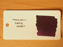 Noodler's Purple Heart