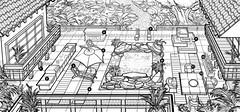 Les Sims 3 Jardin de style