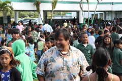 Sen. Ben at Finagayan Elementary School, 2012