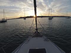 Couché de soleil aux Îles Glénan 2