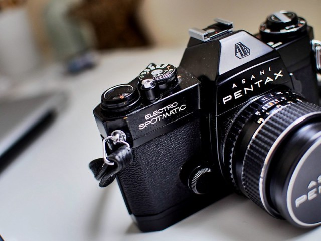 Pentax Asahi from 1972.  Bought in Japan by my father, gifted to me.