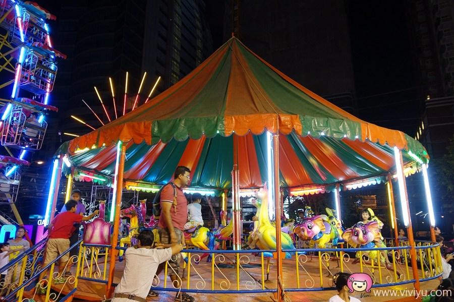 [泰國.景點]曼谷市區最新夜市.TALAD NEON霓虹夜市(TaLad Neon Downtown Night Market)~BTS奇隆站水門市場旁 @VIVIYU小世界