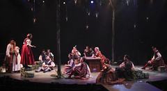 Cast of Brigadoon, produced by Music Circus at the Wells Fargo Pavilion August 5-10, 2014. Photos by Charr Crail.
