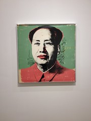 Andy Warhol Silkscreen of Mao