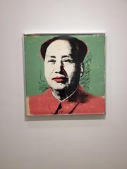 Andy Warhol Silkscreen of Mao
