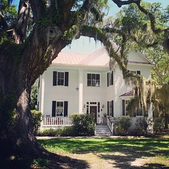 The Frampton Plantation in Yemassee, SC. Owner John Frampton was a signer of SC's Declaration of Secession who got what was coming to him when in 1865 General Sherman burnt Frampton's house to the ground. After the war Frampton returned and built the hous