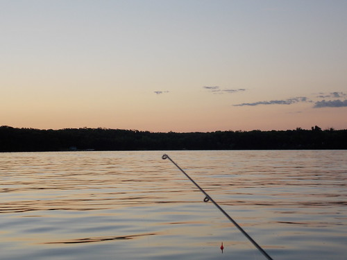 Fishing- Pole and Lake