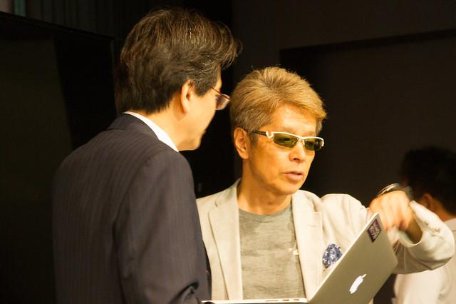 テラウ先生と塚崎さん