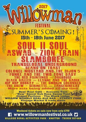 Willow man Festival 2017