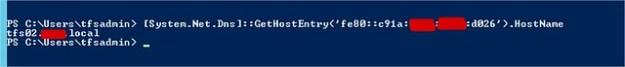 PowerShell get Computer Name via IP Address