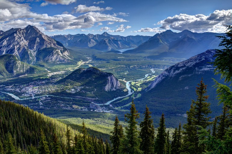 Banff HDR by gorbould, on Flickr