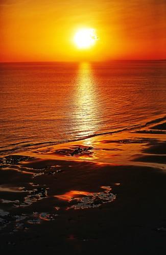 Nascer do sol visto da janela do Hotel Luzeiros