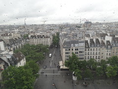 Rainy view from the Pompidou