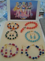 Sailor Moon inspired bracelets