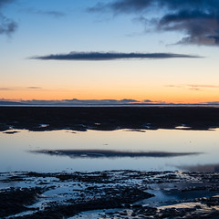 "Late evening cloud reflected, Findhorn • <a style=""font-size:0.8em;"" href=""http://www.flickr.com/photos/26440756@N06/14274098589/"" target=""_blank"">View on Flickr</a>"