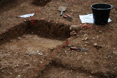 """West Kennet dig, 2014 • <a style=""""font-size:0.8em;"""" href=""""http://www.flickr.com/photos/96019796@N00/14891247753/"""" target=""""_blank"""">View on Flickr</a>"""