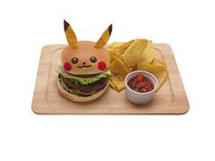"Pikachu Teriyaki Burger - ¥1,080 • <a style=""font-size:0.8em;"" href=""http://www.flickr.com/photos/66379360@N02/14951329500/"" target=""_blank"">View on Flickr</a>"