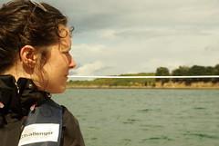Aude dans le golphe du Morbihan