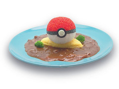 """PokeBall Omurice - ¥1,280 • <a style=""""font-size:0.8em;"""" href=""""http://www.flickr.com/photos/66379360@N02/15137985615/"""" target=""""_blank"""">View on Flickr</a>"""