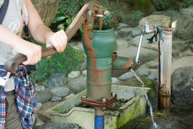 報国寺の井戸