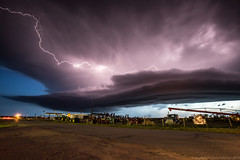 "Supercell Lightning • <a style=""font-size:0.8em;"" href=""http://www.flickr.com/photos/65051383@N05/14345617521/"" target=""_blank"">View on Flickr</a>"