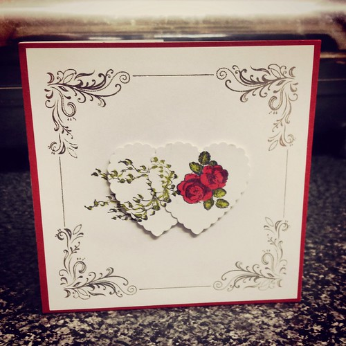 Today is all about...our first RSVP card