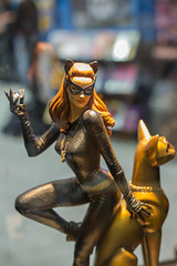 "Catwoman statue SDCC 2014 • <a style=""font-size:0.8em;"" href=""http://www.flickr.com/photos/33121778@N02/14677232140/"" target=""_blank"">View on Flickr</a>"