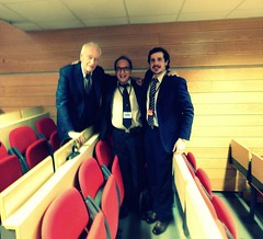 "Honorary President of IAIP Prof. Dr. Gian Giacomo Rovera (I), Prof. Yaír Hazán Psych. D. & Andrés Buschiazzo Figares Psych. D • <a style=""font-size:0.8em;"" href=""http://www.flickr.com/photos/52183104@N04/14686444395/"" target=""_blank"">View on Flickr</a>"