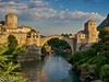 "Stari Most at sundown • <a style=""font-size:0.8em;"" href=""http://www.flickr.com/photos/24419989@N07/14501967225/"" target=""_blank"">View on Flickr</a>"