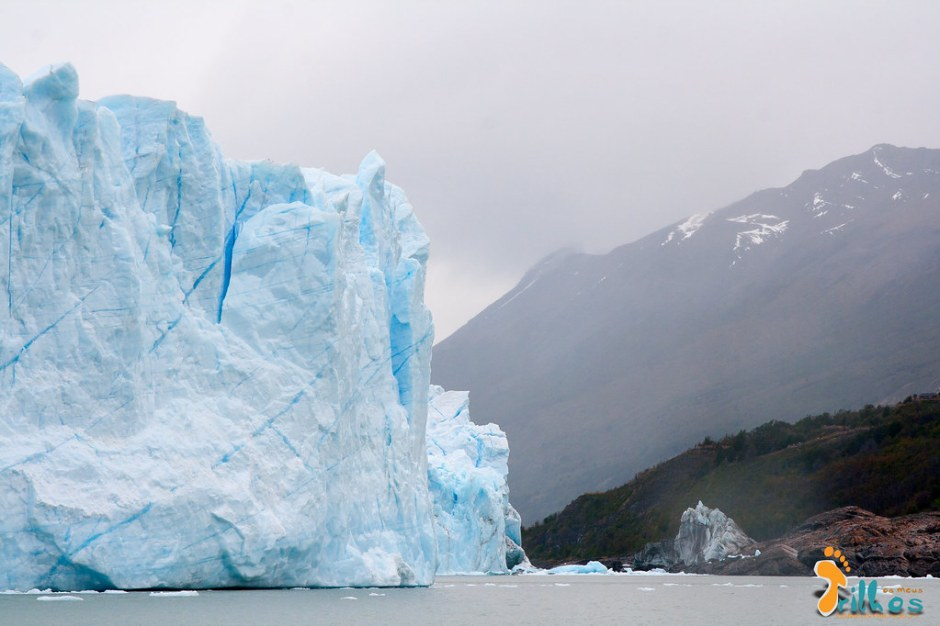 O glaciar Perito Moreno é a terceira maior reserva de água doce do mundo!