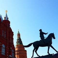 Russian Red and Horse