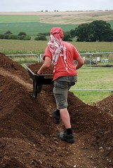 """West Kennet dig, 2014 • <a style=""""font-size:0.8em;"""" href=""""http://www.flickr.com/photos/96019796@N00/14684757839/"""" target=""""_blank"""">View on Flickr</a>"""