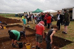 "West Kennet dig, 2014 • <a style=""font-size:0.8em;"" href=""http://www.flickr.com/photos/96019796@N00/14868317811/"" target=""_blank"">View on Flickr</a>"