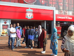Visit to Anfield