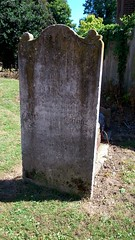 Hancock headstone