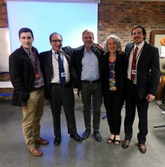 "Cristian Dibot Psych. D, Prof. Yaír Hazán Psych. D., Dr. Giansecondo Mazzoli (I), Dr. Ursula Oberst & Andrés Buschiazzo Psych. D. • <a style=""font-size:0.8em;"" href=""http://www.flickr.com/photos/52183104@N04/14499994727/"" target=""_blank"">View on Flickr</a>"