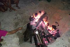 Fogata en Playa