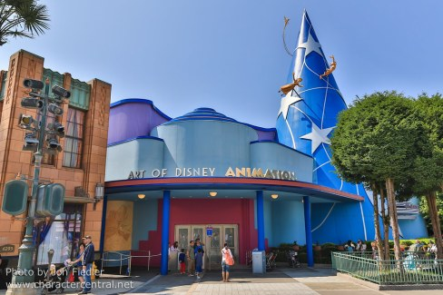 "L'attraction ""Art of Disney animation"" aux Disney Studios"